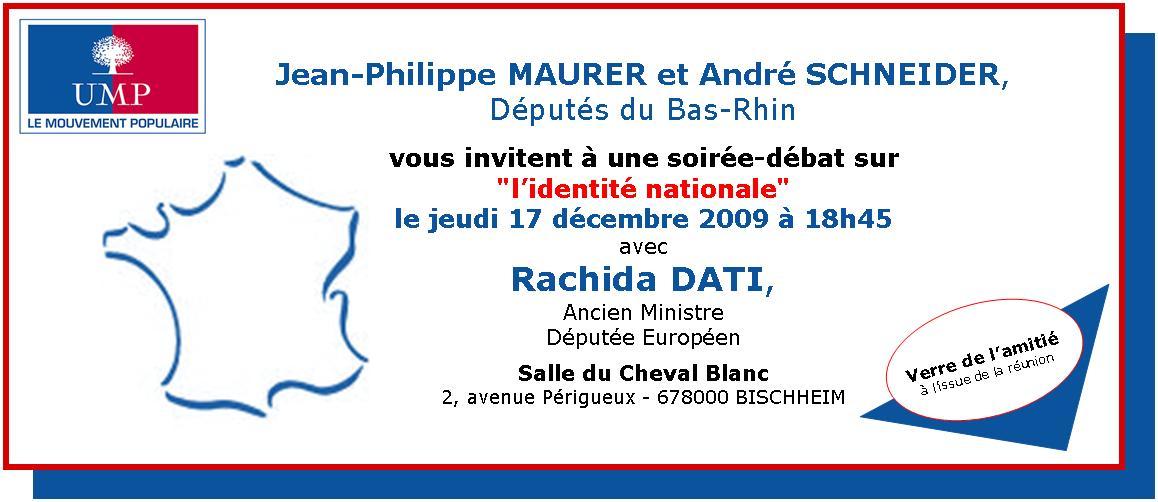 Invitation Rachida Dati