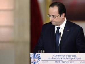 Hollande conference de presse janvier 2014