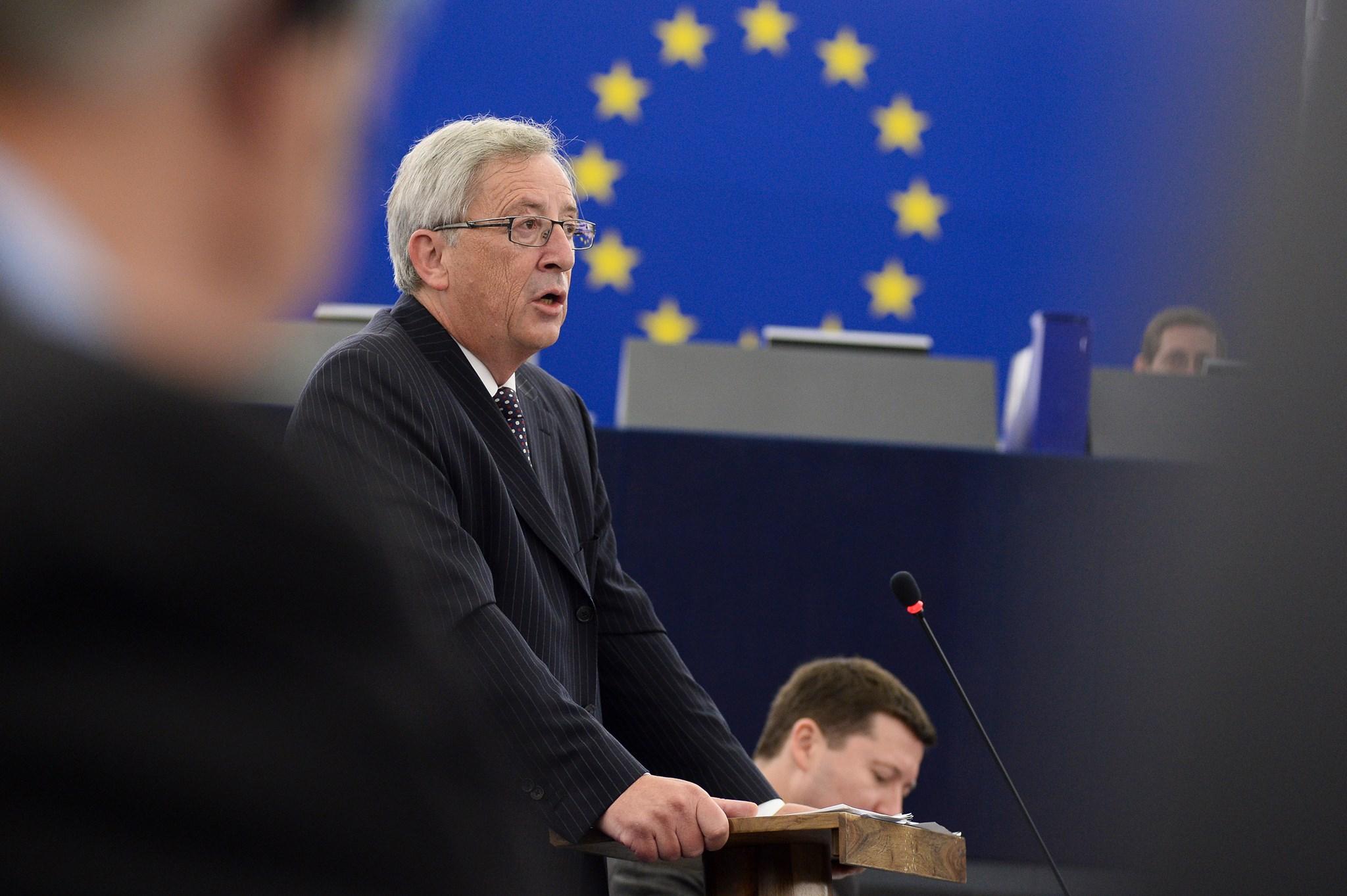 JUNCKER élu Pdt Commission européenne