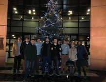 Les JU Karlsruhe en visite au Parlement européen