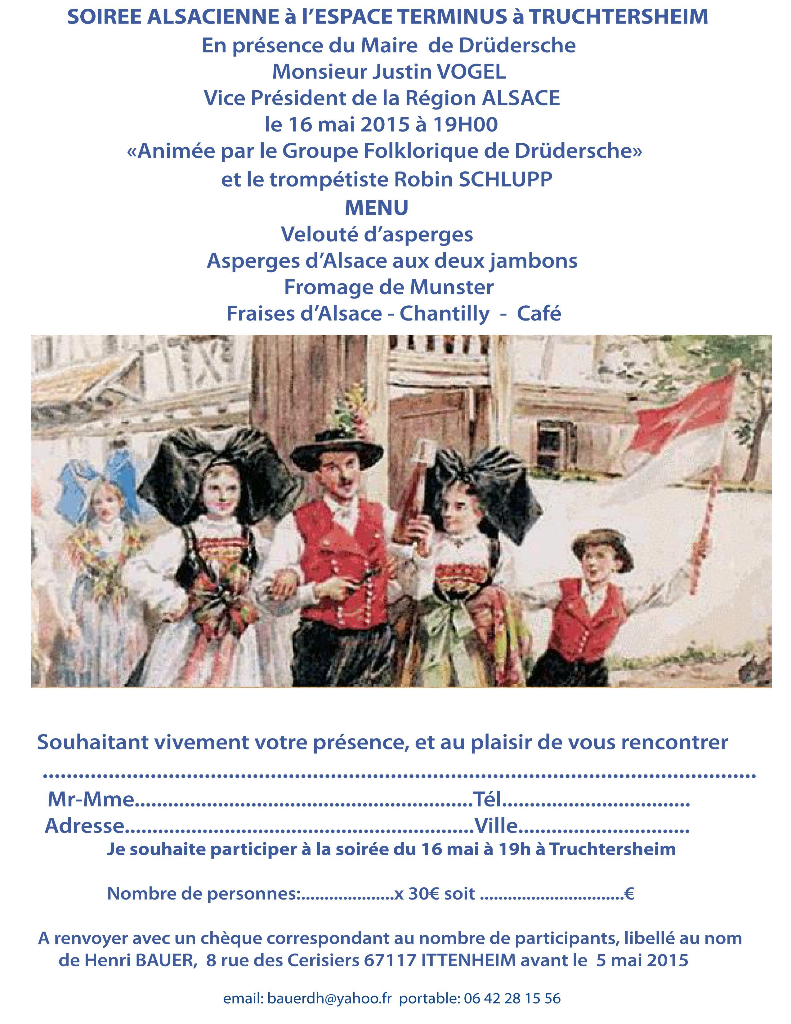 Soirée alsacienne Circo4 Truchtersheim 16-05-2015
